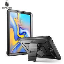 Coque robuste pour Samsung Galaxy Tab S4, 10.5 pouces, 2018 pouces, coque de libération UB Pro complète avec protecteur décran intégré et béquille