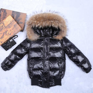 Down-Jacket Coats Babys Kids Winter Children's Outerwear Hooded Girls for Infant 12M-8Y