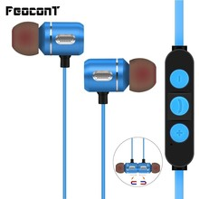 2019 Brand New Bluetooth 4.1 Headset Wireless Head phones Active Noise cancellation Earphone In ear For Mobile Phone IPod Sport