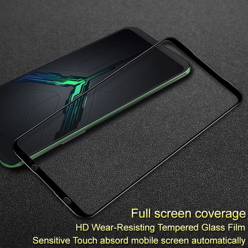 For Blackshark 2 Black Shark 2 Pro tempered glass film Imak pro version Full coverage screen protector sensitive touch|Phone Screen Protectors| |  - title=