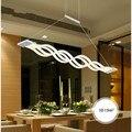 Волна Дизайн Люстра для столовой черный белый люстра освещение Современная люстра led освещение AC 85-260V 100 см 120 см
