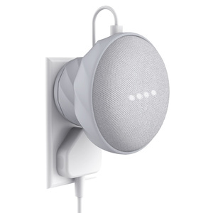 Image 1 - KIWI design US/EU Version Magnetic Rubber Outlet Wall Mount Stand Holder Case for Google Home Mini