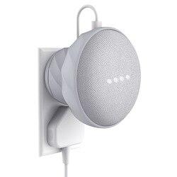 Kiwi design eua/ue versão tomada de borracha magnética suporte de montagem na parede caso para google casa mini