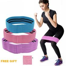 3pcs/set Anti Slip Yoga Hip Band Resistance Bands Body Exercise Elastic Bands For Yoga Stretching Training Fitness Workout Band