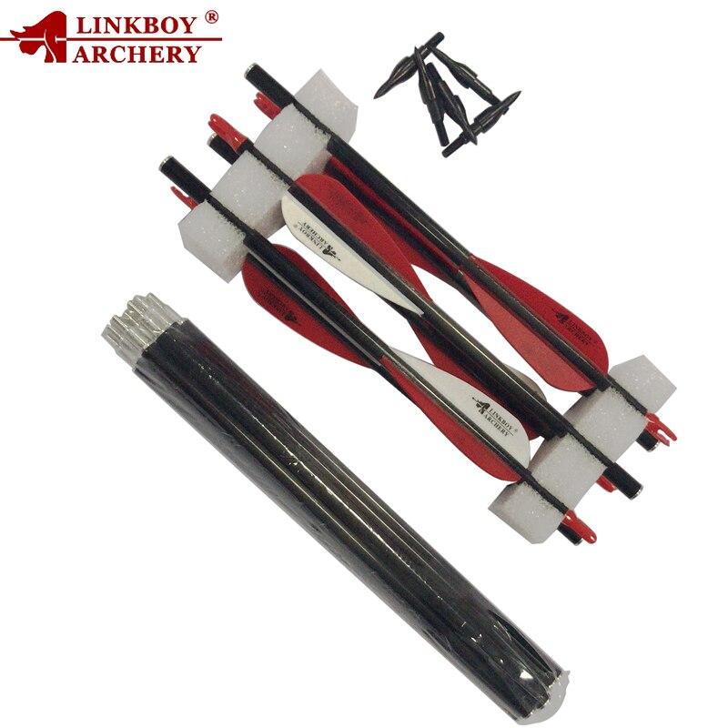 12CS 3 Take Down 2 Take Down Spine500 Pocket Carbon Arrows Plastic Vanes 100GR Tips Compound