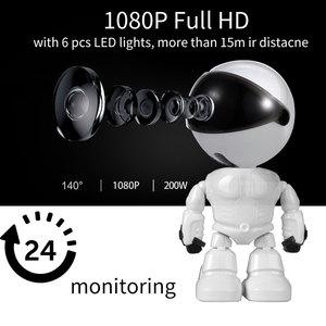 Image 1 - Baby Camera 1080P HD Wireless Smart Baby Monitor WiFi IP ROBOT Camera  Audio Video Record Surveillance Home Security Camera