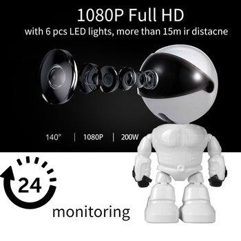 בייבי מוניטור מצלמה בצורת רובוט באיכות גבוהה 1080
