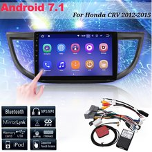 hot deal buy car radio 10.2 inch android 7.1 car multimedia player for honda cr-v for crv 2012-2016 car navigation video audio payer 2 din