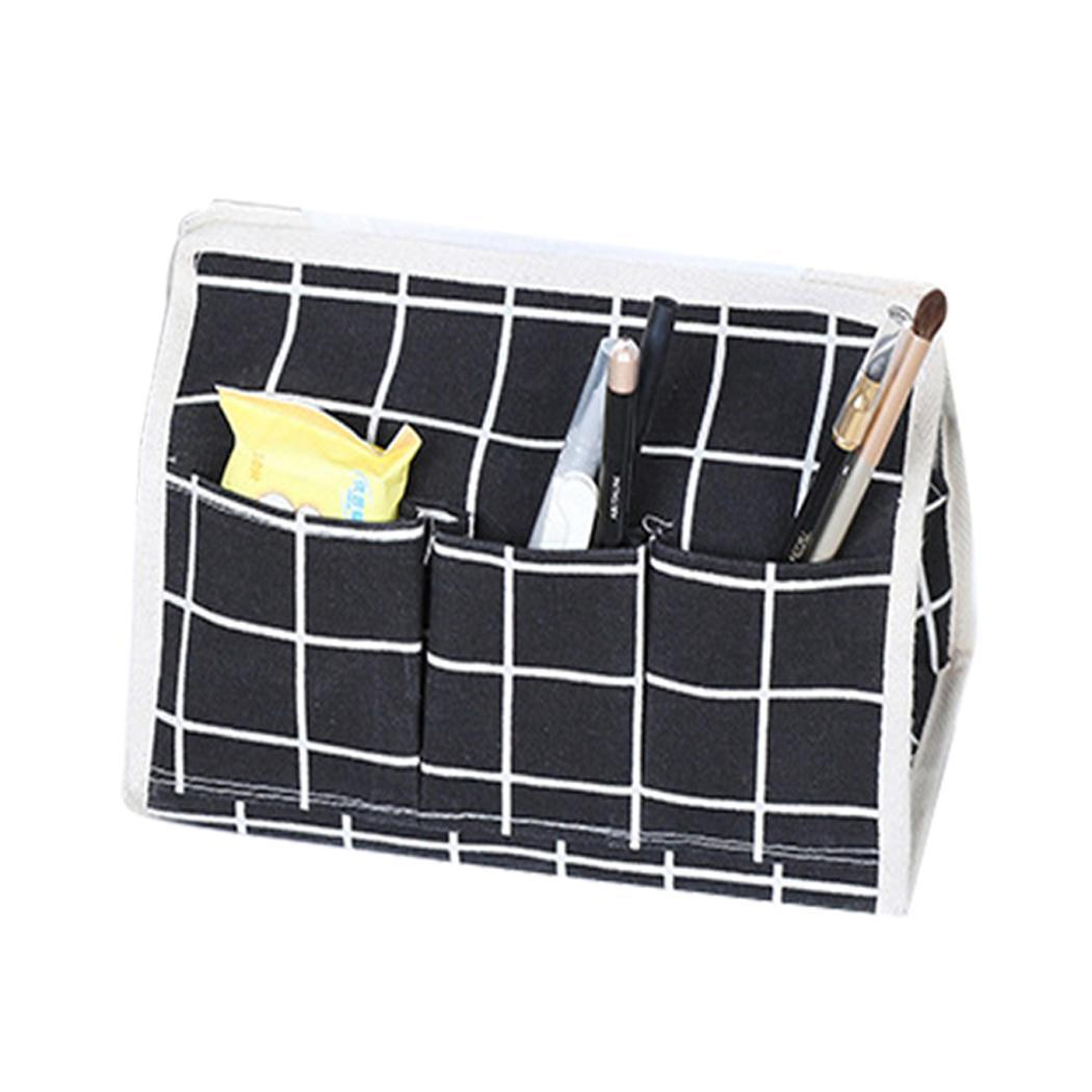Unisex Organization Storage Multi-function Tissue Casual Box Holder Home Functional attractive Plaid and Desktop Boxes