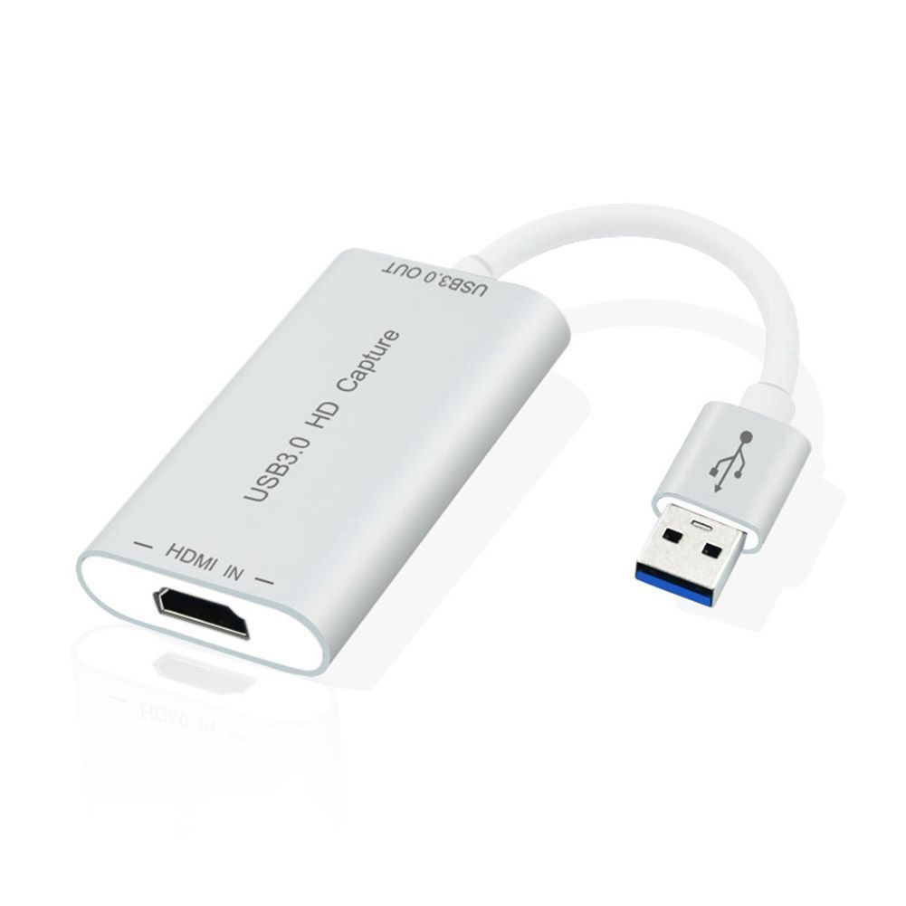 HDMI à USB 3.0 carte de capture Dispositif Dongle 1080 P adaptateur audio vidéo Win Mac NOUS