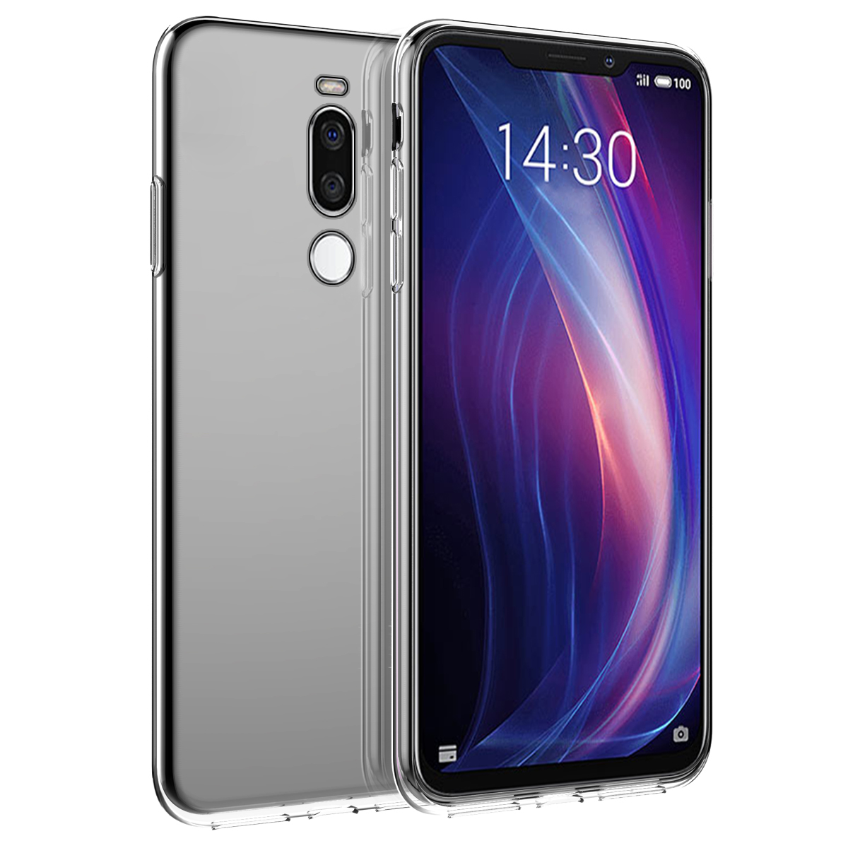 For Meizu X8 Case Soft TPU Silicone Ultra Thin Silm Transparent Back Cover For Meizu X8 X 8 Case Silicon Shockproof Clear
