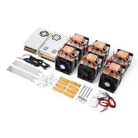 NEW High Power Quad core Six Copper Tube Cooling Semiconductor Refrigeration Module DIY Kit Fish Tank Cooler With Power Supply