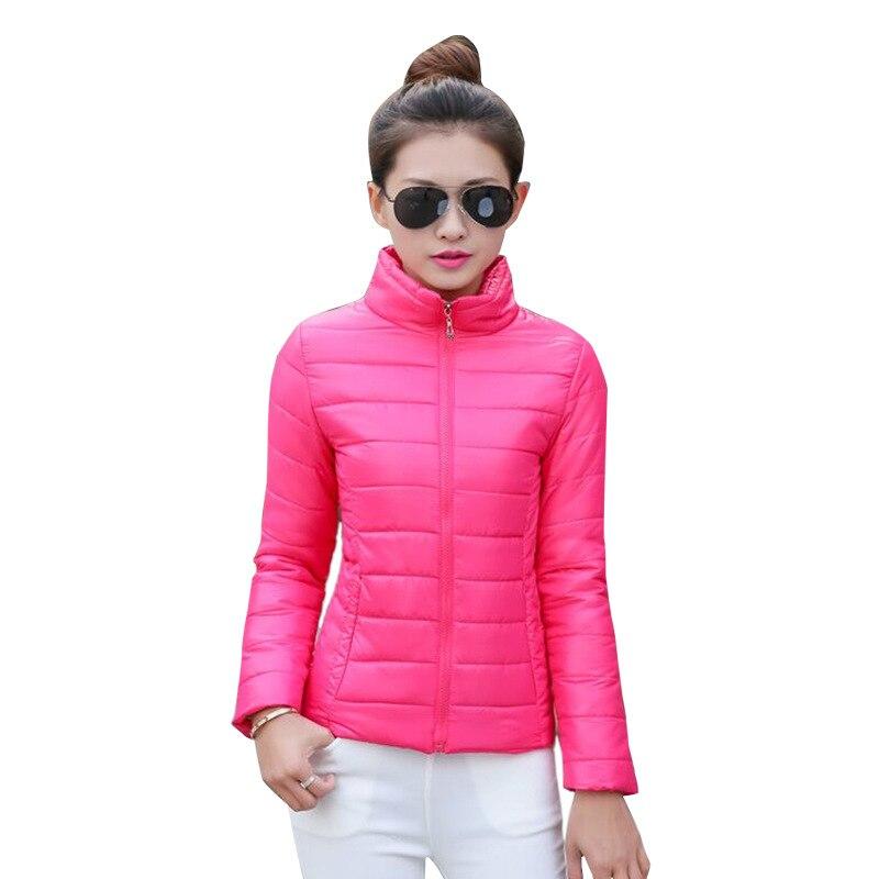 04b904af9 Parkas Basic Jackets 2019 winter Fashion parka jacket coat ladies ...