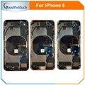 Для iPhone 8 задняя крышка батарейный Корпус задняя крышка сборка батарейный корпус для iPhone 8G гибкий кабель  сменные детали