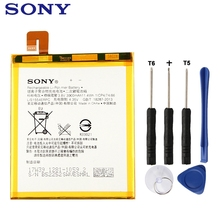 Sony Original Replacement Phone Battery For SONY Xperia T2 Ultra XM50t XM50h D5303 D5306 LIS1554ERPC Authenic Battery 3000mAh lcd display touch screen digitizer assembly for sony xperia t2 ultra dual d5322 d5303 xm50h xm50t xm50u glass lens black white