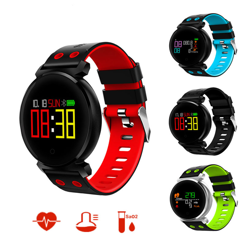 Sport Watch 2018 Calories Record Smart Watch Men Anti-lost Smart Wristband Android IOS Herzband Pressure with Smartwatch interactive music smart watch men calories record sport stopwatch information reminder for android ios reloje smart watch hombre