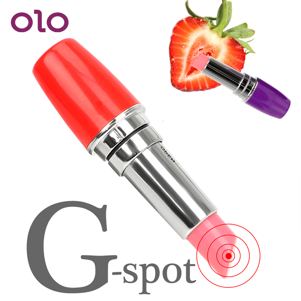 OLO Lipsticks Vibrator Mini Secret Bullet Vibrator Clitoris Stimulator G-spot Massage Sex Toys For Woman Masturbator Quiet(China)