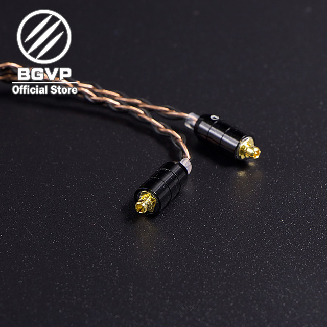 BGVP 5N 160 Core Earphones Hybrid Cable 2.5mm 3.5mm 4.4mm DIY Aficionados MMCX Interchangeable Hifi Headphone Upgrade Cable DM6 2