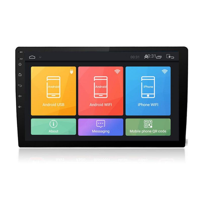 """Top Android 8.1 2 Din Car Stereo Radio 10.1"""" GPS Wifi Touch Screen MP5 Player Support Rear View Camera Android Car Radio 2"""