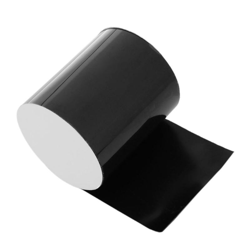Super Strong Adhesive Waterproof Tape Black Bonding Rubberized Tapes Repair Seal Tapes For Home Kitchen Garden Hose Water Taps
