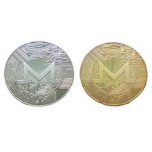 Новинка 2021, оптовая продажа, памятная виртуальная валюта Монро, памятная монета Монро, виртуальная монета, Биткоин, металлическая памятная ...