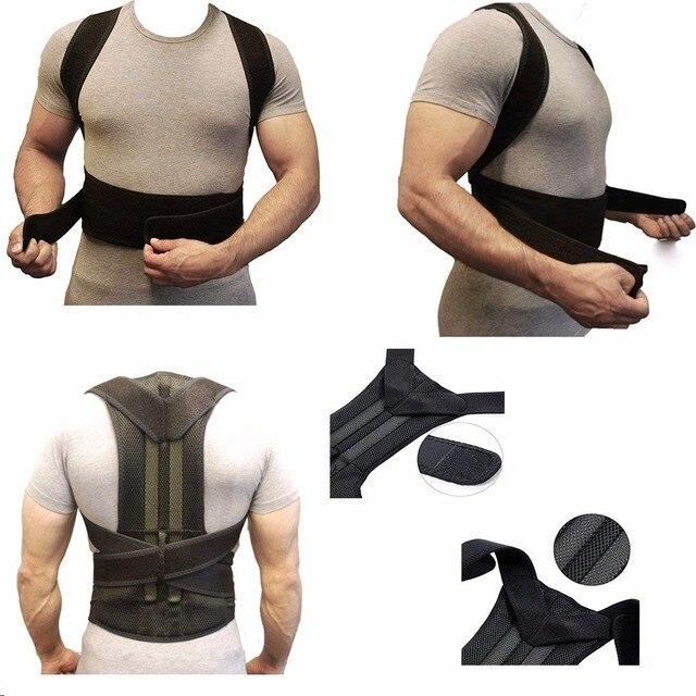 XXXL Posture Corrector Back Support Belt Orthopedic Posture Corset Back Brace Support Back Straightener Adjustable Shoulder Wrap 4