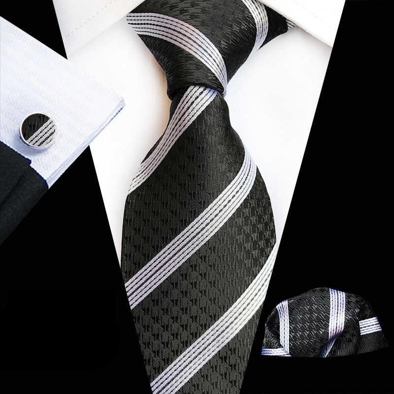 2019 新高品質オンライン販売爆発チェック柄ドレス男性のネクタイポケットタオル袖口スリーピーススーツ