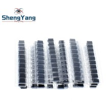 200pcs/lot SMD diode Assorted Kit 20value*10PCS contains SS110 SS220 SS210 SS310 SS510 SS16 SS26 SS34 SS36 ES1J ES1D ES1M US1M