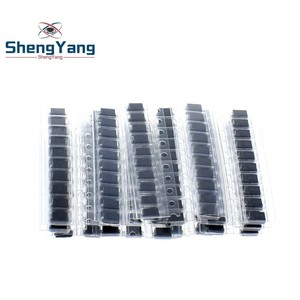 200pcs/lot SMD diode Assorted Kit 20value*10PCS contains SS110 SS220 SS210 SS310 SS510 SS16 SS26 SS34 SS36 ES1J ES1D ES1M US1M