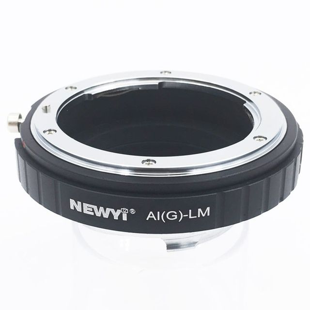 NEWYI Adapter for Nikon AI F G AF S Mout lens to Leica M LM L/M Camera NEW