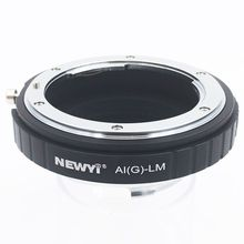 NEWYI Adapter voor Nikon AI F G AF S Mout lens leica M LM L/M Camera NIEUWE