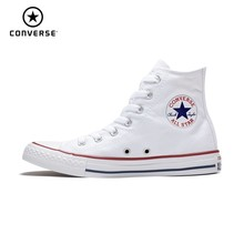 CONVERSE All Star Classic Original Canvas Men And Women Skateboarding Shoes Four Color High Help Sneakers#101010/102307 цены
