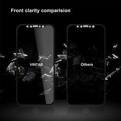 Pełna osłona ekranu wyświetlacz ochrony taśma ograniczająca widoczność monitora dla iPhone XR max X 8 7 6 s plus szkło hartowane Anti glare
