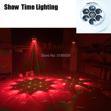 SHOW TIME Led Mini Bee Eye Moving Head Light 6x12W RGBW Professional Stage Lights 4-60 degree DJ DMX Disco Beam Wash Effect