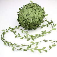 Adeeing Yards Simulation Foliage Leaves Garlands Artificial Vines Leaves For Wreaths Home Wall Garden Wedding Party Decor