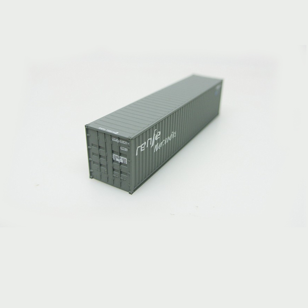 United N Scale Model Container 1/150-1/160 Toys For Children Or Model Train Layout Model Building