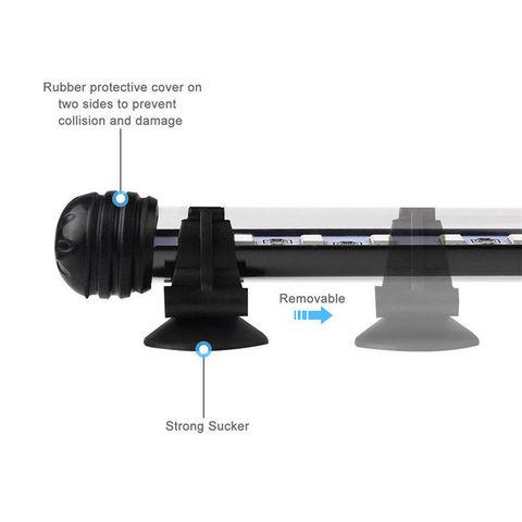 barra de luz azul branco submersivel underwater