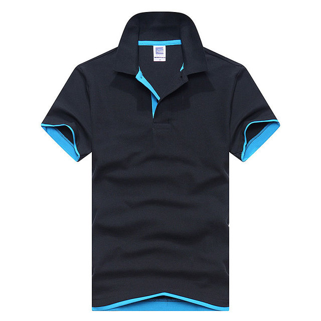 New 2019 Men's brand men Polo shirt D esigual Men's cotton short-sleeved polo shirt sweatshirt T-ennis Free shipping XS-3XL 1