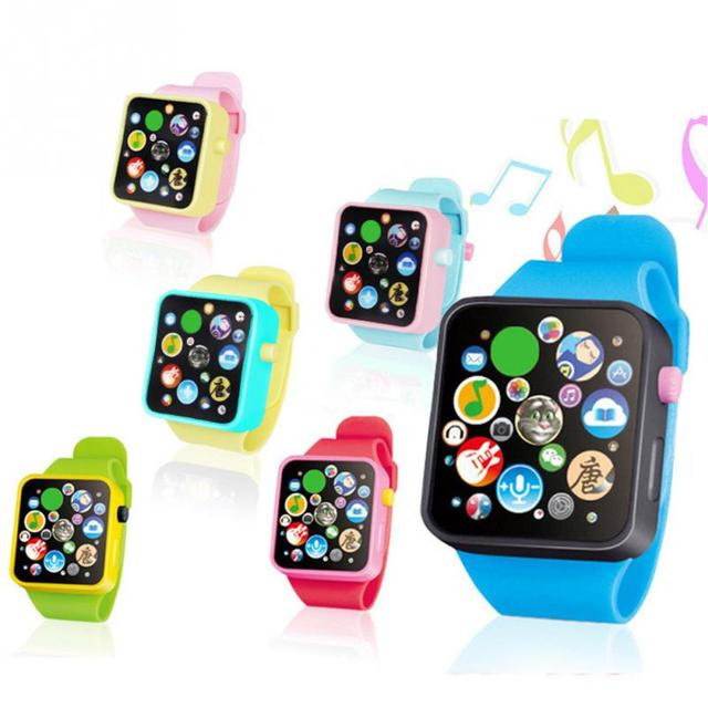 Hot New Random Color Children Kids Early Education Smart Watch Learning Machine