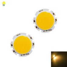 Baru 30 Mm Putaran LED COB Sumber 3 W 6 V 500mA Warm White 3000 K Ra> 80 untuk Indoor Restoran Lampu Meja Diy Lampu LED(China)