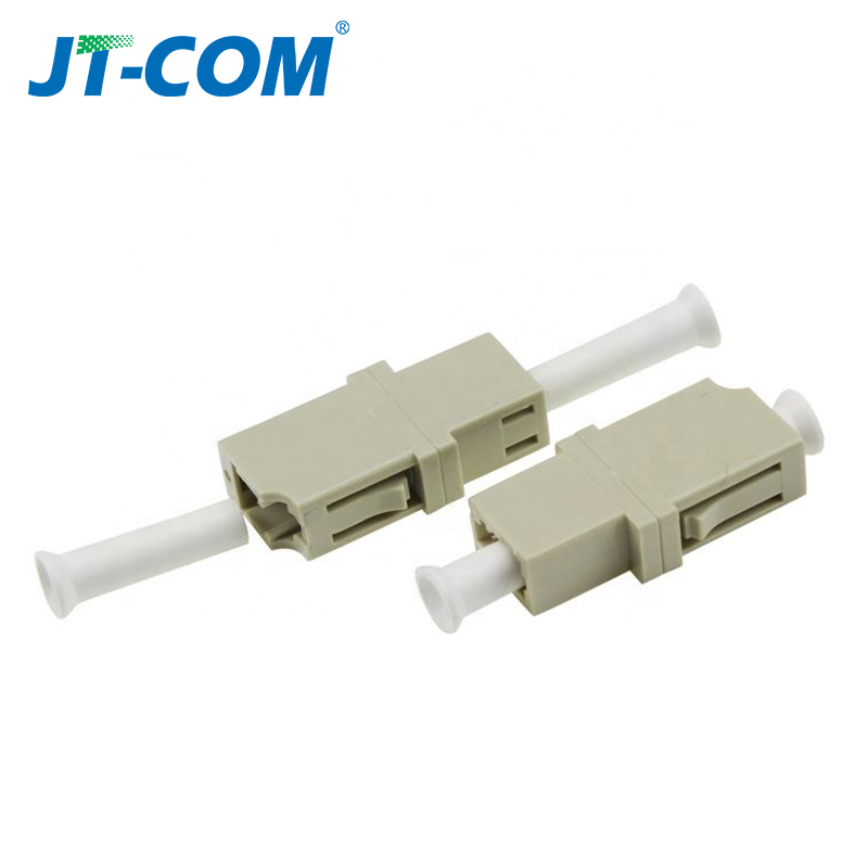 Image 4 - LC APC Simplex SingleMode FTTH fiber adapter  LC UPC SM optical fiber flange connector LC MM Multimode fibra optica coupler-in Fiber Optic Equipments from Cellphones & Telecommunications
