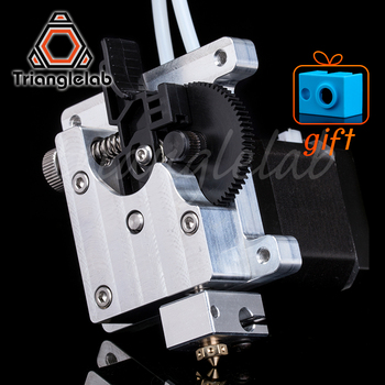 цена на trianglelab TITAN AQUA EXTRUDER for 3d printer diy Upgrade  water cooling  titan extruder  for e3d hotend for tevo 3d MK8 I3