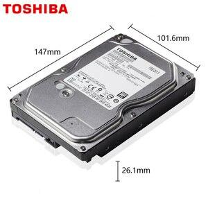 "Image 2 - TOSHIBA 1 테라바이트 비디오 감시 하드 드라이브 디스크 DVR NVR CCTV 모니터 HDD HD 내부 SATA III 6 기가바이트/초 5700RPM 32MB 3.5 ""하드 디스크"