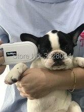 Ределл Бесплатная доставка сканер чипов у собак PT160 Микрочип и считыватель животных чип для сканера для лошади кошки собаки