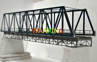 1/87 Train Model Ho Scale Plastic Elevated Railway Bridge DIY Building Kit Model Sand Table Toys for children Free Shipping