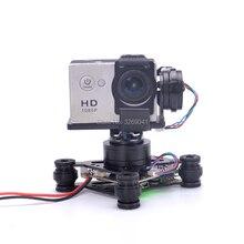 Cardan sans brosse RTF 3 axes Storm32 contrôleur FPV cardan pour GoPro Hero 3 4 5 6 SJ4000 Xiaomi Xiaoyi caméra