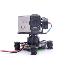 RTF 3 осевой Бесщеточный Стабилизатор Storm32, FPV Gimbal для камеры GoPro Hero 3 4 5 6 SJ4000 Xiaomi Xiaoyi