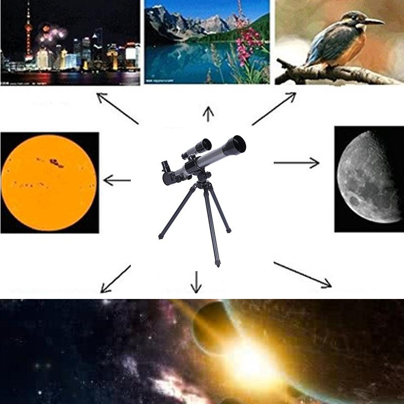 Image 5 - New Sale Outdoor Monocular Astronomical Telescope With Tripod Portable Toy Children-in Monocular/Binoculars from Sports & Entertainment