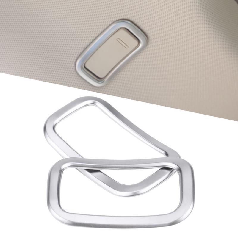2pcs Car Roof Hook Cover Trim Car font b Interior b font Accessories New for Mercedes