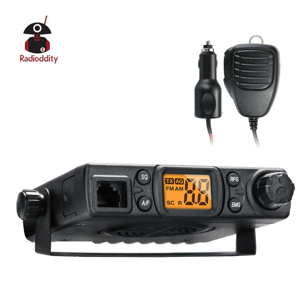 Radioddity CB 27 CB Radio Mobile 40 Channel AM Instant Emergency Channel 9 19 PA System RF Gain with Microphone License free in Walkie Talkie from Cellphones Telecommunications